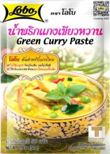 Zielona Pasta Curry Green Curry 50g LOBO