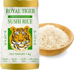 Ryż Do Sushi Jakość Premium 1kg ROYAL TIGER